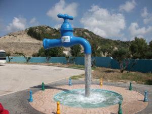 Wasserpark von Faliraki - Der Wasserhahn!