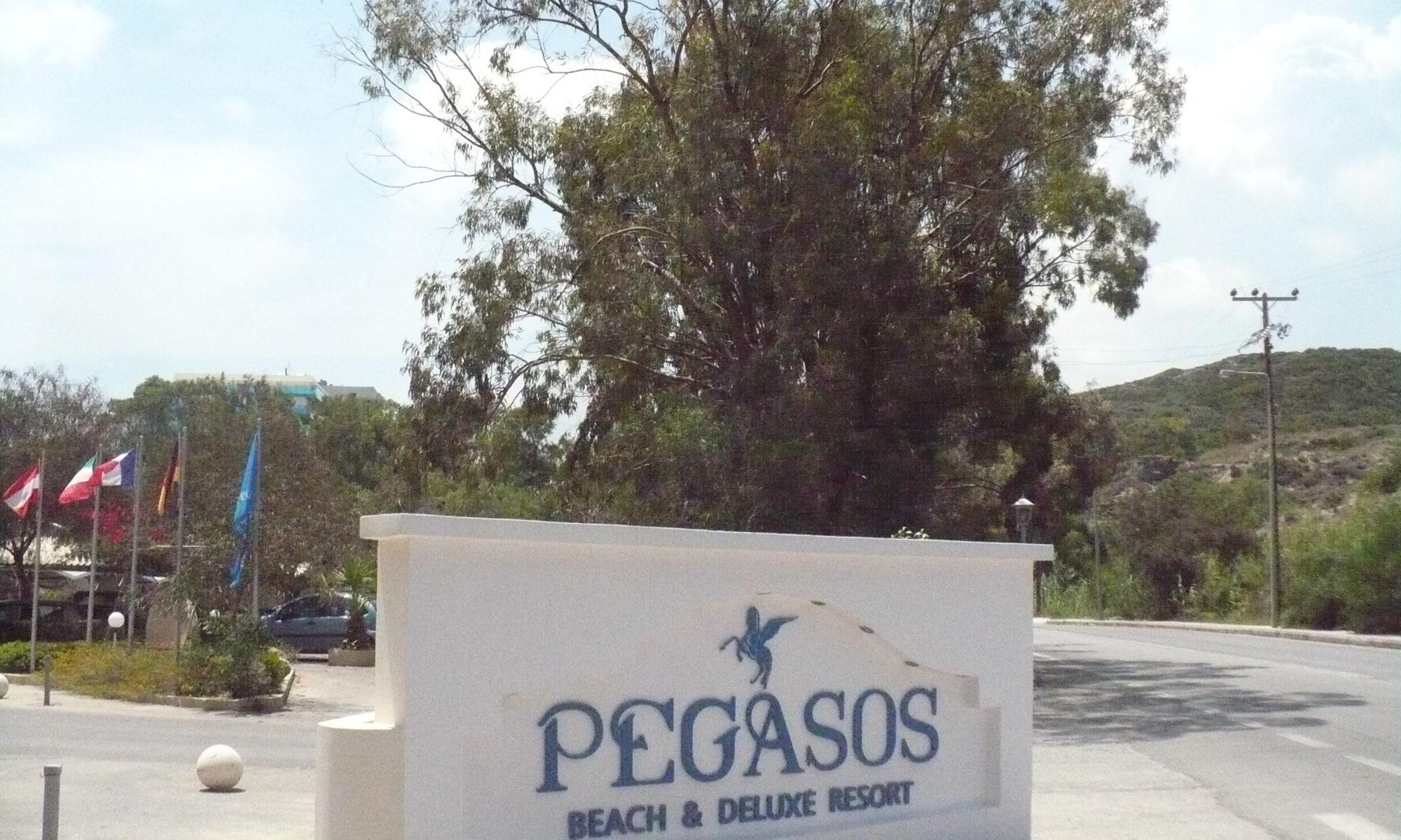 Rhodos, Hotel Pegasos in Faliraki