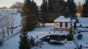 Hauskapelle und Teich vom BW Hotel Brunnenhof